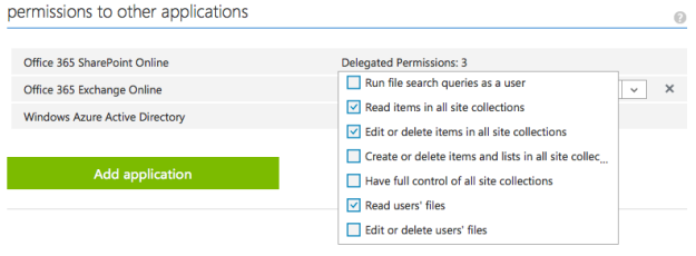 Azure Rights - Initial Configuration