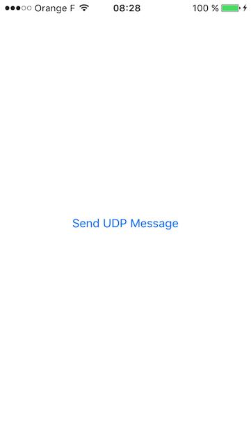 Xamarin - UDP Client